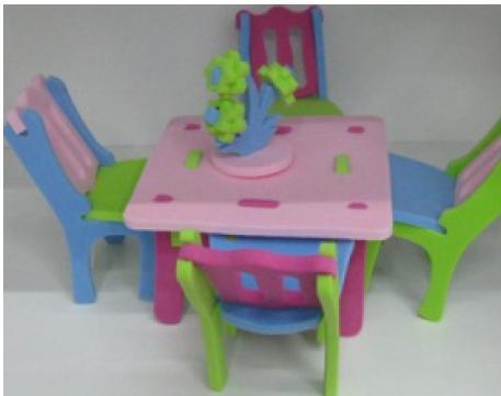 Набор для творчества 3D пазл HL-3 Мебель