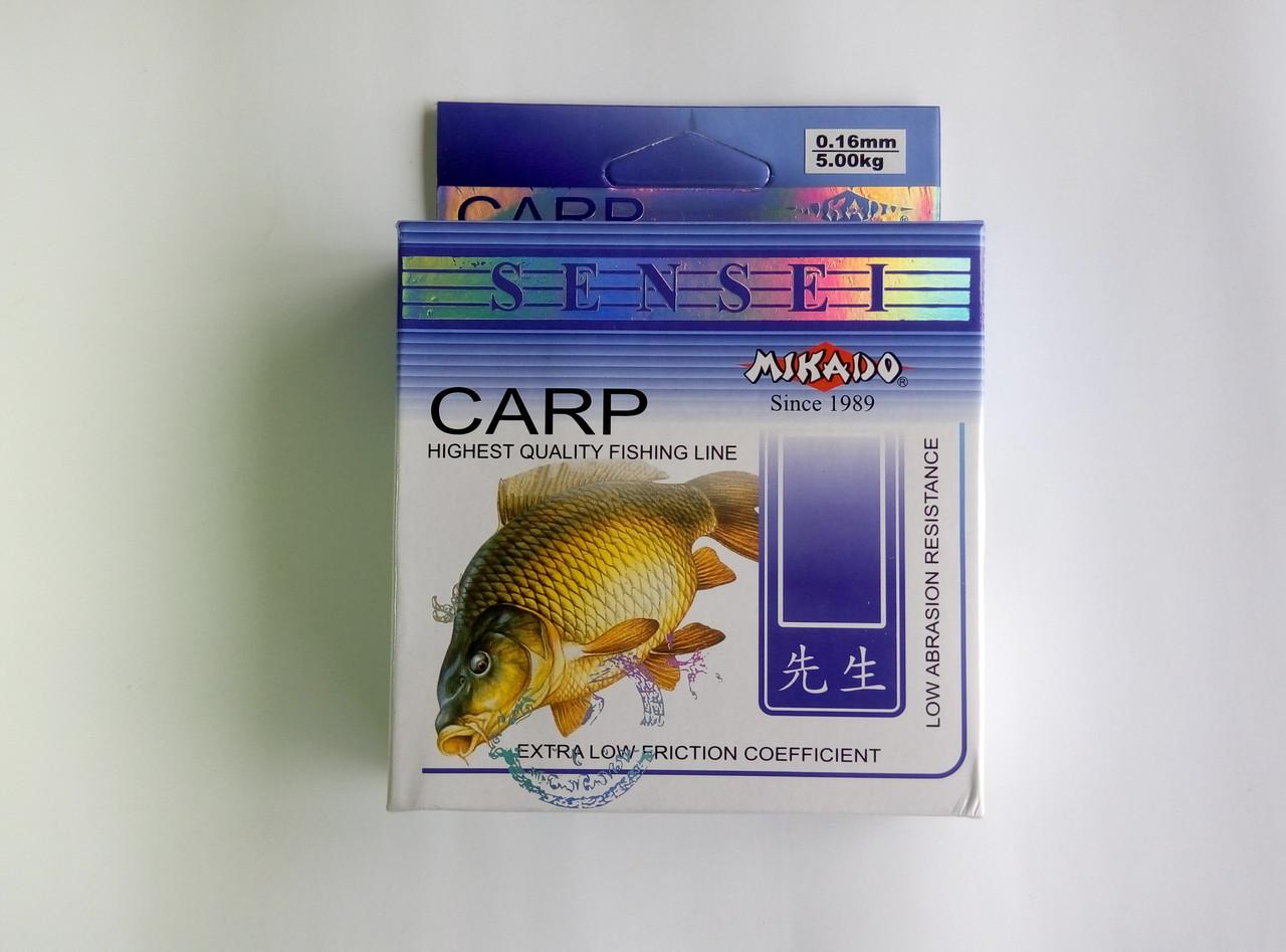 Леска Mikado Sensei Carp 125 м 0.35