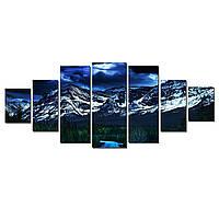 Модульные Светящиеся картины Startonight Дорога в горы, 7 частей