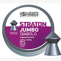 Пули пневматические JSB Diabolo Straton Jumbo, 500 шт/уп, 1,03 г, 5,5 мм