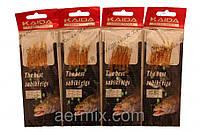 Самодур силиконовый оранжевый KAIDA, рыболовный самодур, самодур рыболовная снасть, приманки для рыбалки