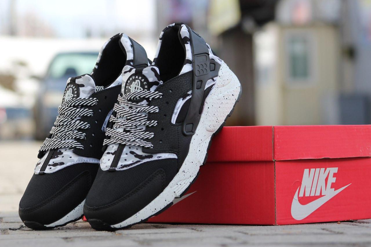 Кроссовки Nike Air Huarache мужские,кожа,текстиль,44
