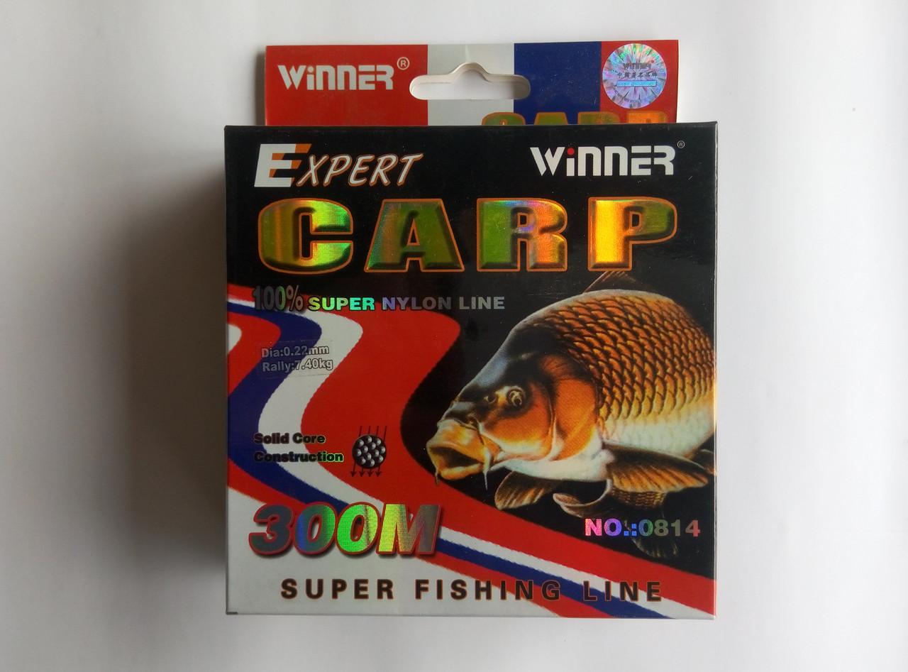 Леска Carp Expert 300 м 0,30мм -0,45мм 0.40
