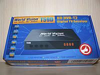 World Vision T59D цифровой эфирный DVB-T2 ресивер (тюнер Т2)