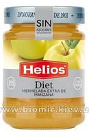 Джем из яблок без сахара Helios Diet 280 грамм