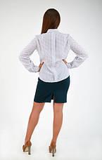 """Интересная классическая рубашка """"Ольга"""" размер 44,46,48, фото 2"""