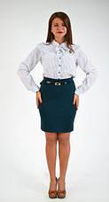"""Интересная классическая рубашка """"Ольга"""" размер 44,46,48, фото 3"""