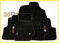Ворсовые коврики Nissan X-Trail (T31), 2007-…, Полный комплект, (хорошее качество), Ниссан Х Трейл
