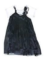 Платье черное 3,5,6 лет (Д)