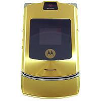 Корпус Motorola V3i золотой, High Copy