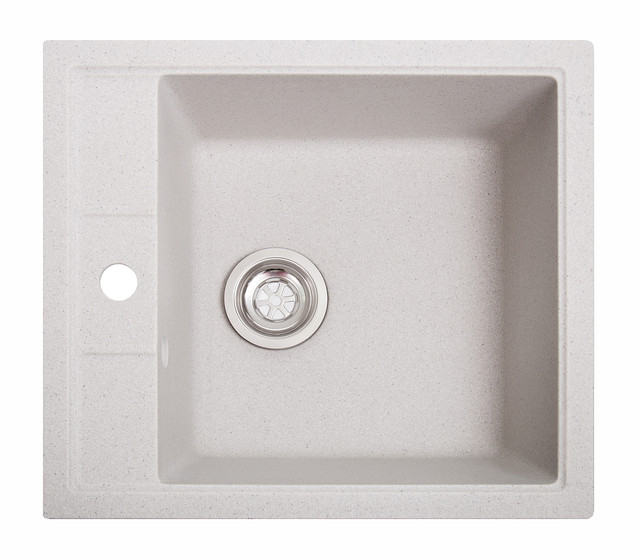 Гранитные кухонные мойки квадратные 515х460х210