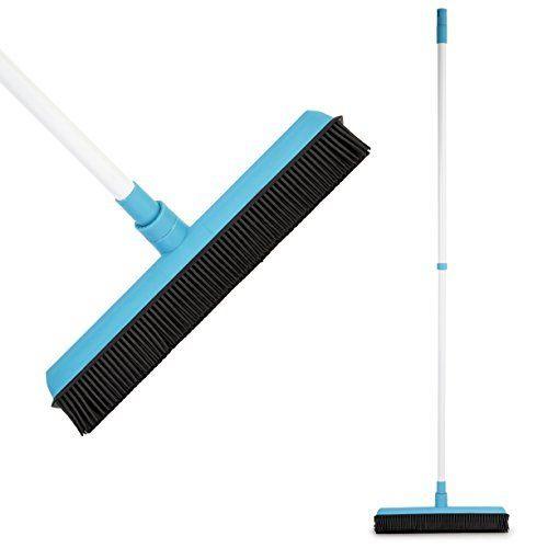 Щетка каучуковая для пола с телескопической ручкой Telescopic Rubber Broom