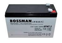 Аккумулятор Bossman Profi 12V 7.2Ah, 6FM7.2, 20HR...