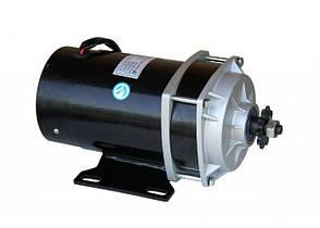 Електродвигун 36V650W постійного струму з планетарним редуктором., фото 2