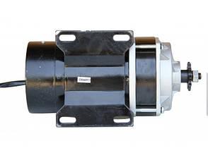 Электродвигатель 36V650W постоянного тока с планетарным редуктором., фото 3