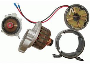 Електродвигун 24V250W постійного струму з вбудованим редуктором, фото 2
