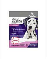 Краплі на холку SILVER DEFENCE від бліх, кліщів і комарів для собак вагою 20-30 кг