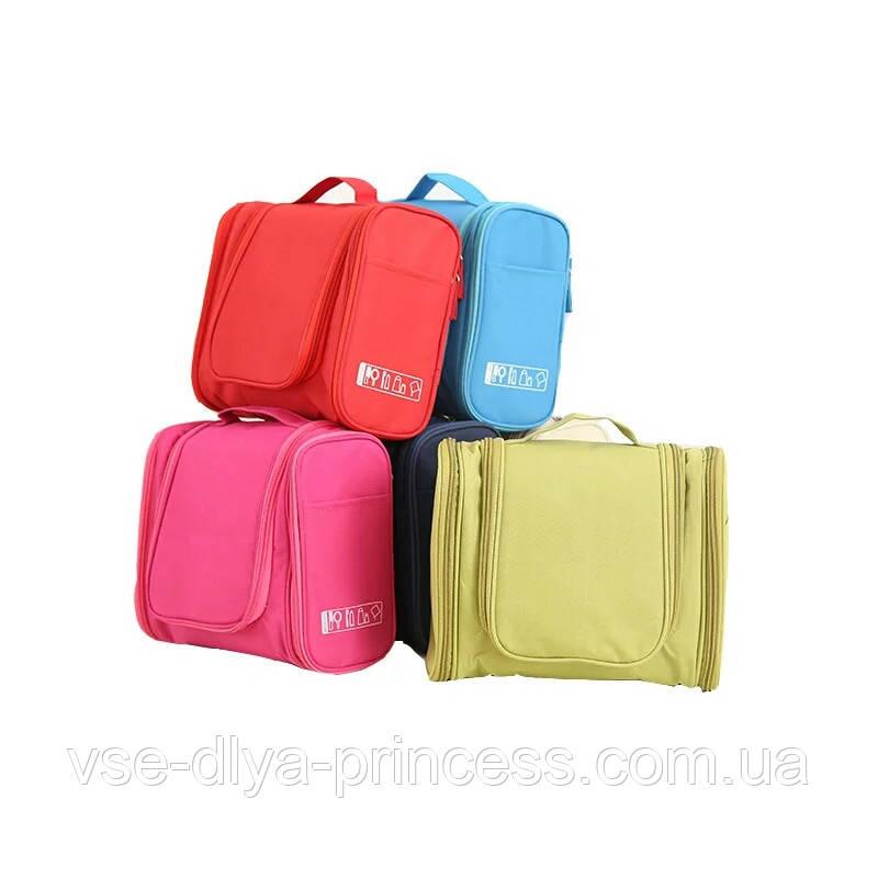 Велика червона сумочка, сумка, органайзер, несесер, кейс у відпустку, жіноча, на подарунок
