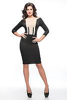 Женское платье SO-14055-BEG беж ТМ Alpama 46-52 размеры
