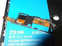 Шлейф динаміка ZTE V5 V9180 б/у Оригінал