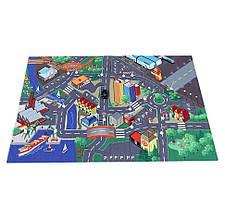 Игровой коврик Город с машинкой и дорожными знаками «Dickie Toys» (3745004)