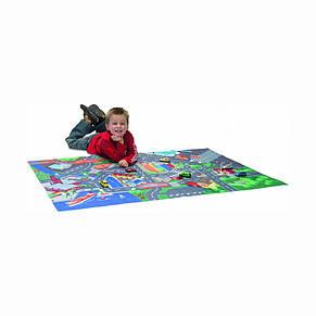 Игровой коврик Город с машинкой и дорожными знаками «Dickie Toys» (3745004), фото 2