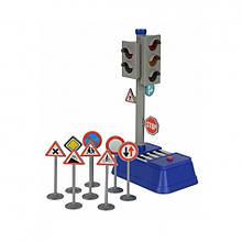 Набор Светофор с дорожными знаками «Dickie Toys» (3741001)