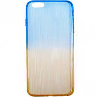 Чехол силикон радужный на iPhone6+