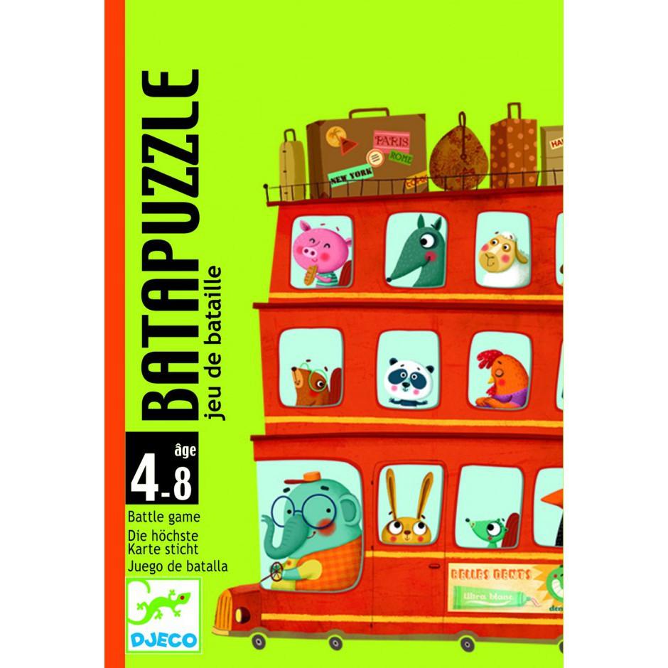 Карточная игра Djeco Бата пазл (DJ05125)