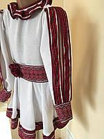 Сукня для дівчинки в етно стилі домоткане полотно на 1-3 роки
