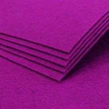 Фетр, Полиэстер, Цвет: Розовый, Размер: 298~300x298~300x1мм, (УТ100006272)