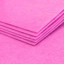 Фетр, Полиэстер, Цвет: Ярко-розовый, Размер: 298~300x298~300x1мм, (УТ100006279)