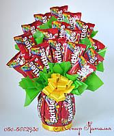 Букет из конфет Скитлс
