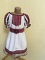 Літня сукня для дівчиеки в етно стилі