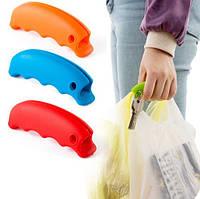Ручка для переноски пакетов для защиты от передавливания пальцев ручками пакетов ЦВЕТ СЛУЧАЙНЫЙ SKU0000632