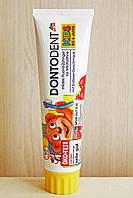 Dontodent зубная паста-гель Kids для деток до 6 лет. 100 мл. (Германия)