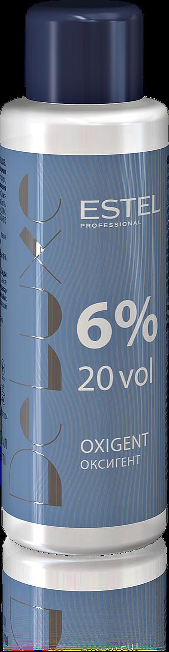 Оксигент  Estel De Luxe 6% 60 мл
