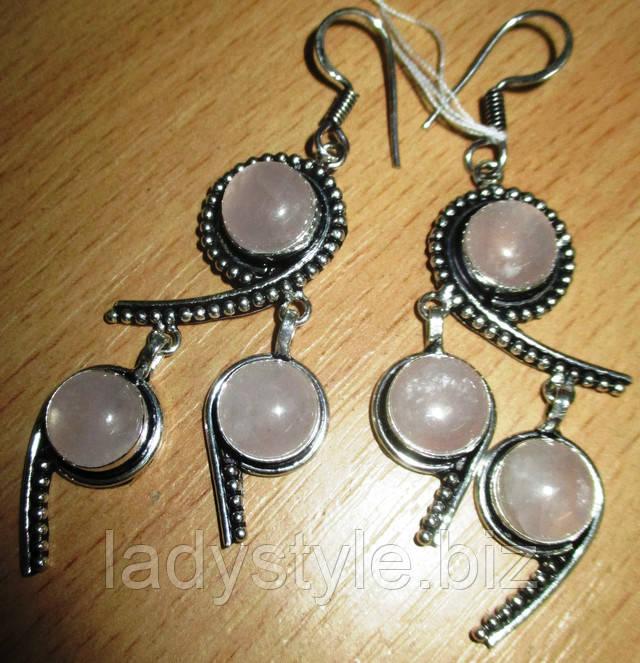 браслет серебряный натуральный халцедон украшения из серебра