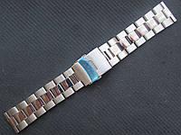 Уценка!!! Браслет для часов из нержавеющей стали, литой. 22-й размер, фото 1
