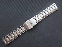 Уценка!!! Браслет для часов из нержавеющей стали, литой. 20-й размер