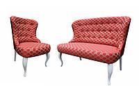 """Комплект классической мебели: диван с креслом """"Ретро"""" (2+1)"""
