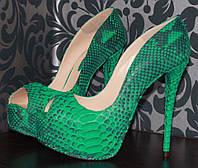Туфлі із пітона / Туфли из питона 0567