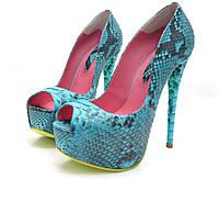 Туфлі із пітона / Туфли из питона 0568