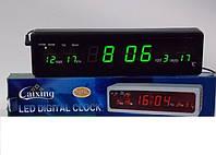 Настольные электронные часы-календарь  Led Clock CX 808