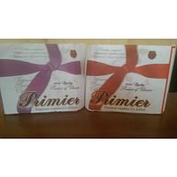 Салфетки бумажная барная для диспенсера 3-х слойная 200 шт/уп Primier