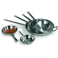 Сковорода нержавеющая сталь 32х6 см. без покрытия Kapp