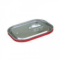 Крышка для гастроемкости с силиконовым уплотнителем GN 1/2 нержавеющая сталь, Presto Ware
