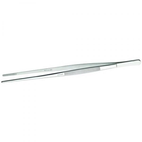 Щипцы-пинцет кухонные прямой 20 см. Winco, из нержавеющей стали (743)