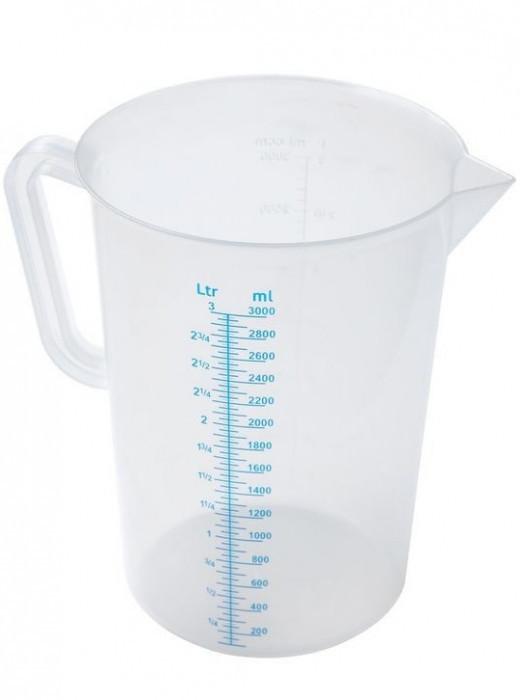 Мерная чаша 3 л. Winco, пластиковая (99072)