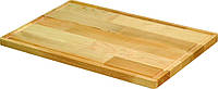 Доска разделочная деревянная с желобом 60х35х2 см. прямоугольная